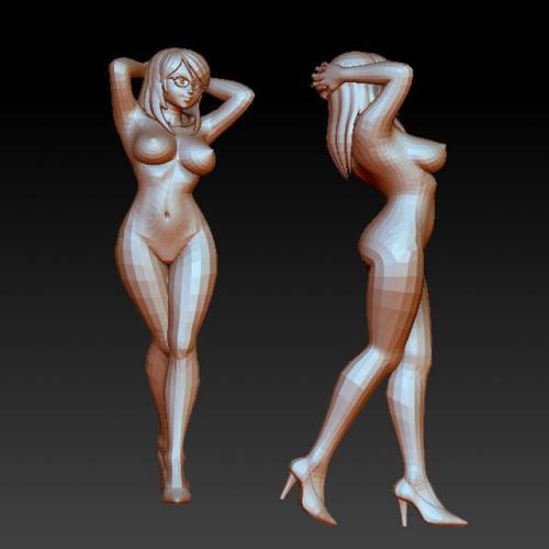 rw-701裸女