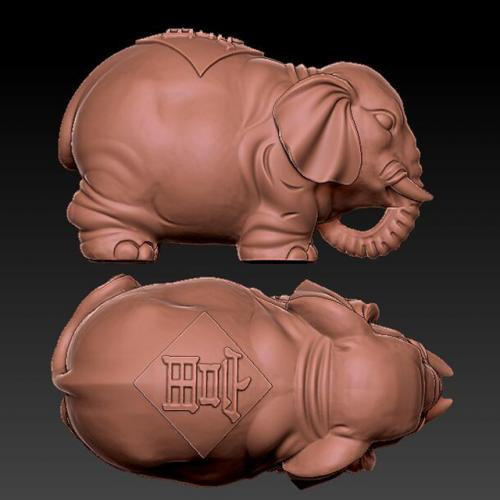 dx-702大象 雕刻图 石材雕刻图 木雕 玉雕 石雕 金属雕刻 stl图库 立体雕刻机 墓碑雕刻机 精雕图