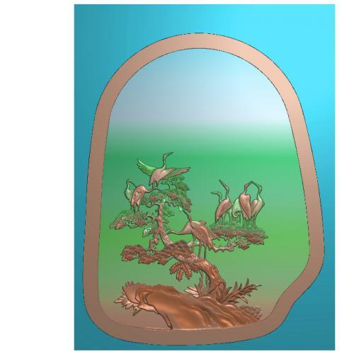 砚台精雕图(YT-151)