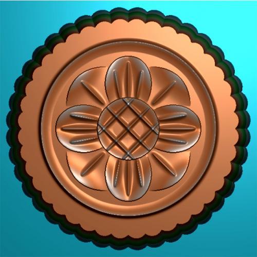 拍饼板模具精雕图(MJ-0001)