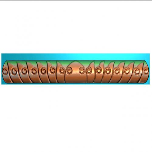 洋花牙板浮雕图(YHYB-470)