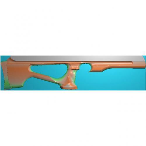雕刻枪浮雕图(Q-001)
