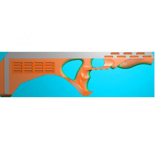 雕刻枪浮雕加工图(Q-008)