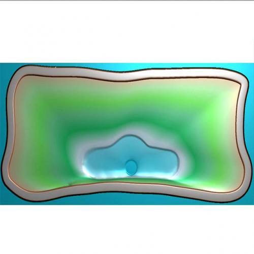 茶盘精雕图(JYCP-207-)