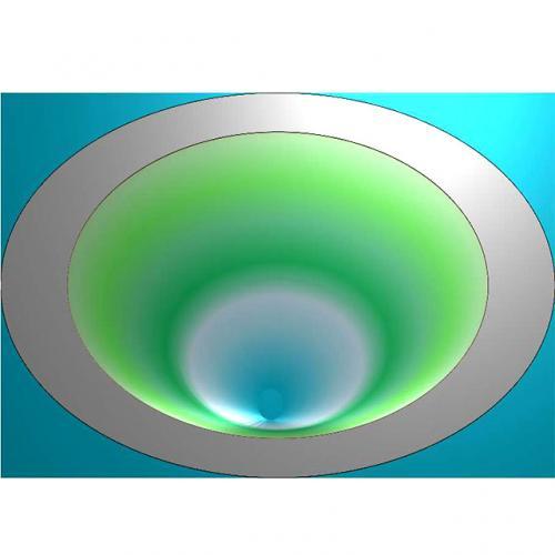 茶盘浮雕图(JYCP-208-)