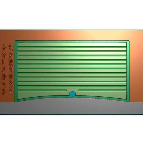对江楼阁盘雕刻图(JYCP-214)