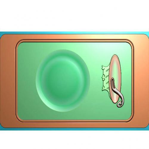 茶盘精雕图(JYCP-221)