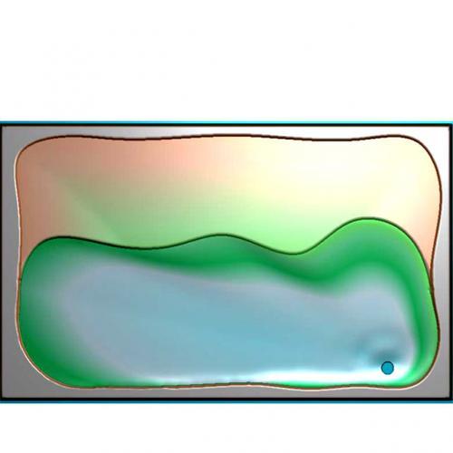 茶盘浮雕图(JYCP-225)