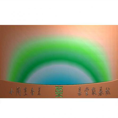 茶盘精美雕刻图(JYCP-227)