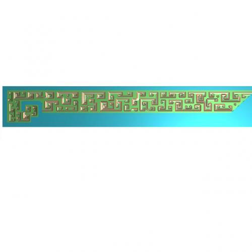 纹长腰线浮雕图(YX-453)