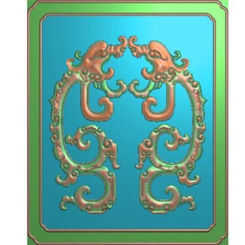 草龙门板柜子面板(GZMB-303)