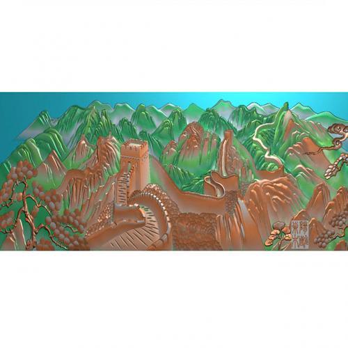 长城浮雕图(CCXL-252)