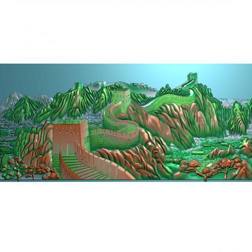 长城精雕图(CCXL-255)