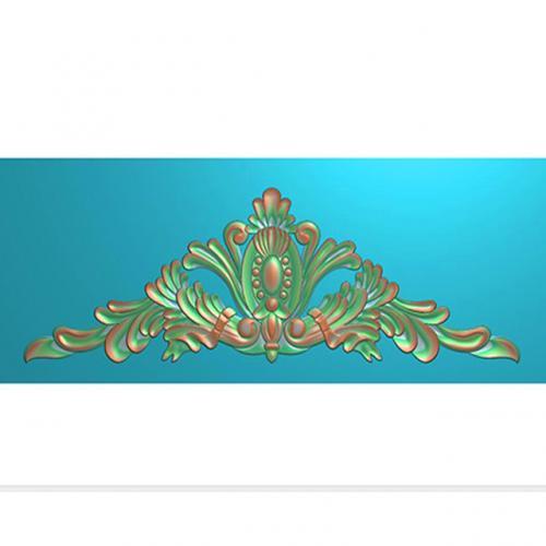 欧式洋花门花精雕图,洋花贴花浮雕图,洋花雕刻图有线(CT-064)