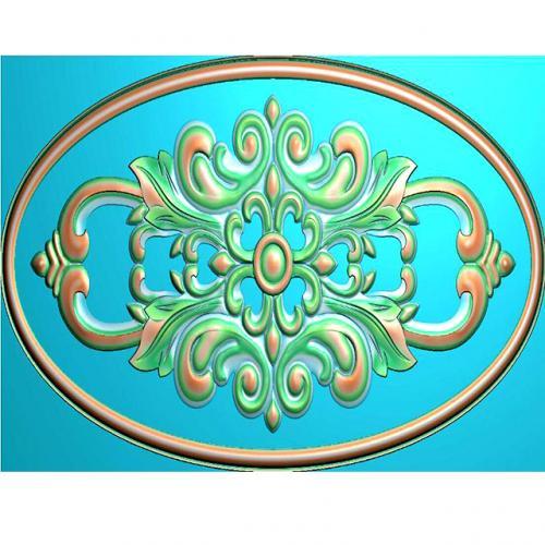 欧式洋花门花精雕图,洋花贴花浮雕图,洋花雕刻图有线(CT-191)