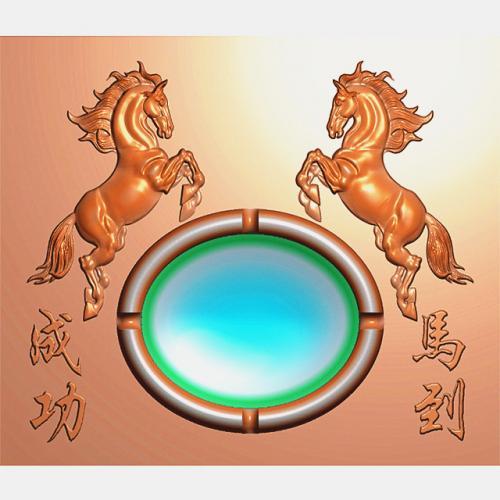 烟灰缸精雕图,烟灰缸浮雕图,烟灰缸雕刻图,烟灰缸加工图(YHG-2016)