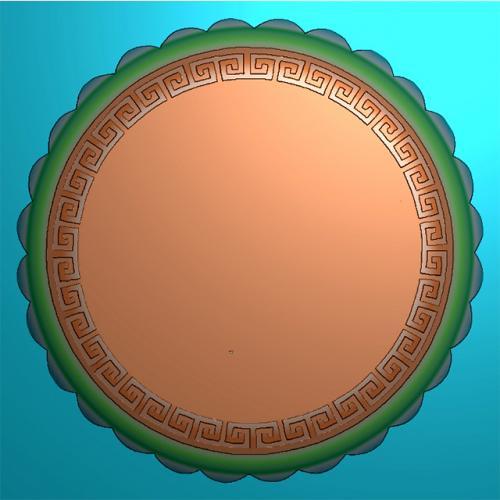 月饼模具精雕图,月饼模具浮雕图,月饼模具雕刻图(MJ-0027)