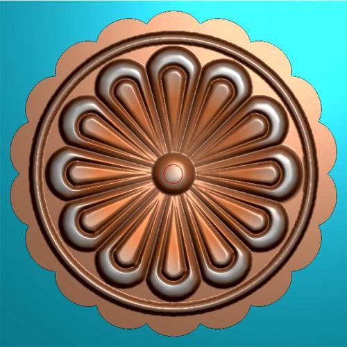 月饼模具精雕图,月饼模具浮雕图,月饼模具雕刻图(MJ-0032)