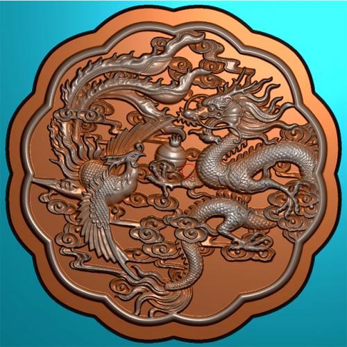 月饼模具精雕图,月饼模具浮雕图,月饼模具雕刻图(MJ-0039)