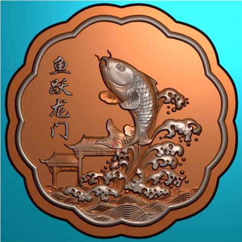 月饼模具精雕图,月饼模具浮雕图,月饼模具雕刻图(MJ-0045)