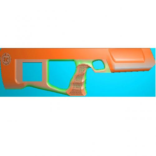 工艺品枪模型精雕图,枪浮雕图,枪雕刻图,雕刻(Q-020)