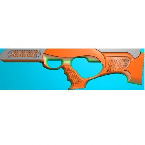 工艺品枪模型精雕图,枪浮雕图,枪雕刻图,雕刻(Q-021)
