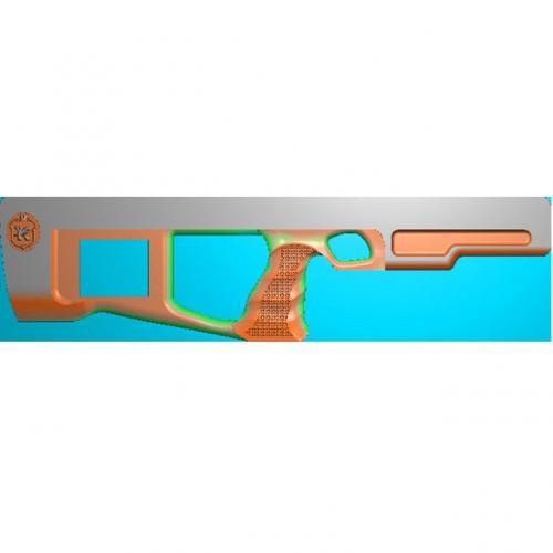 工艺品枪模型精雕图,枪浮雕图,枪雕刻图,雕刻(Q-023)