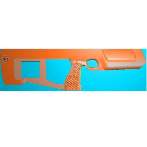 工艺品枪模型精雕图,枪浮雕图,枪雕刻图,雕刻(Q-027)