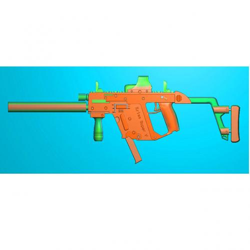 工艺品枪模型精雕图,枪浮雕图,枪雕刻图,雕刻(Q-033)