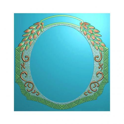 欧式洋花门牌精雕图,洋花门牌浮雕图,欧式洋花雕刻图,标牌雕刻图(MP-013)