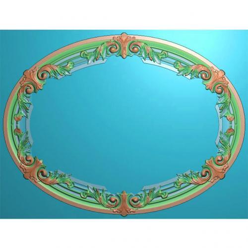 欧式洋花门牌精雕图,洋花门牌浮雕图,欧式洋花雕刻图,标牌雕刻图(MP-016)