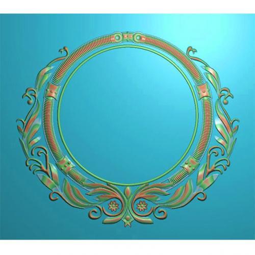 欧式洋花门牌精雕图,洋花门牌浮雕图,欧式洋花雕刻图,标牌雕刻图(MP-025)