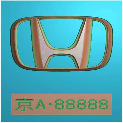 车标牌精雕图,车标牌浮雕图,车标牌雕刻图,工艺品雕刻,46牌,四六牌(CBP-033)