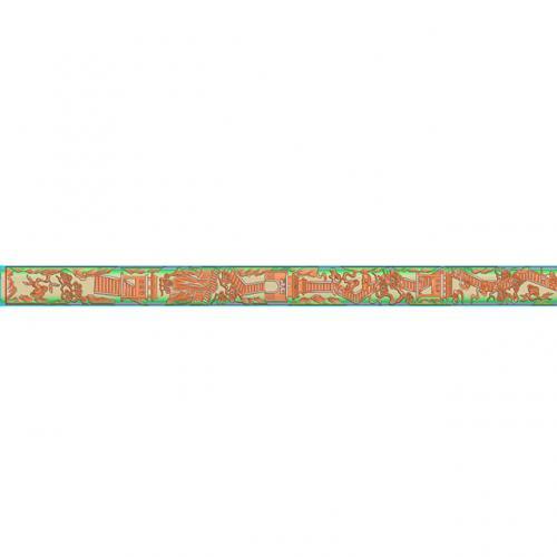 桃木剑精雕图,宝剑浮雕图,木雕剑,剑雕刻图,工艺品剑精雕图(DJF-354)