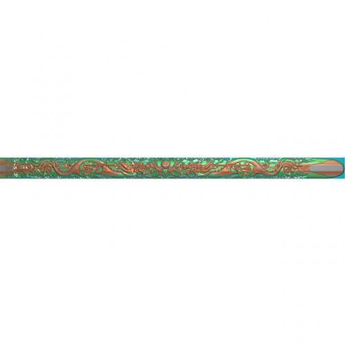 桃木剑精雕图,宝剑浮雕图,木雕剑,剑雕刻图,工艺品剑精雕图(DJF-363)