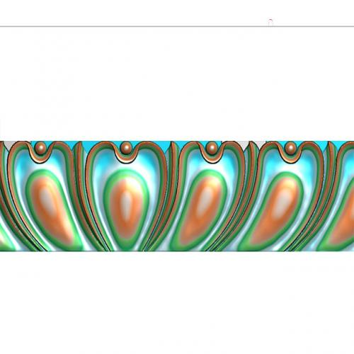 腰线精雕图,腰线浮雕图,腰线雕刻图,腰线加工图(yx-1038)
