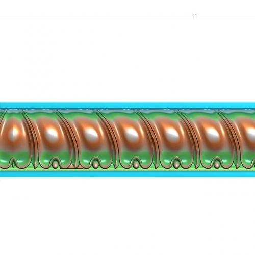 腰线精雕图,腰线浮雕图,腰线雕刻图,腰线加工图(yx-1039)