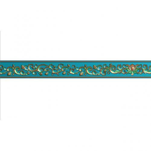 腰线精雕图,腰线浮雕图,腰线雕刻图,腰线加工图(yx-2006)