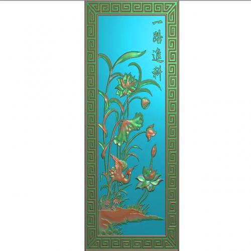花鸟精雕图(HN-016)