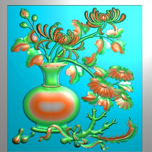 花鸟浮雕图(HN-204)