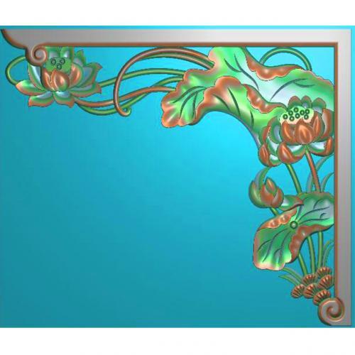家具角花精雕图(JH-033)