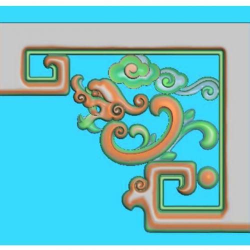 家具角花精雕图(JH-047)