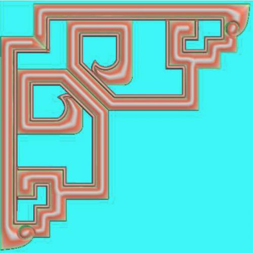 家具角花精雕图(JH-048)