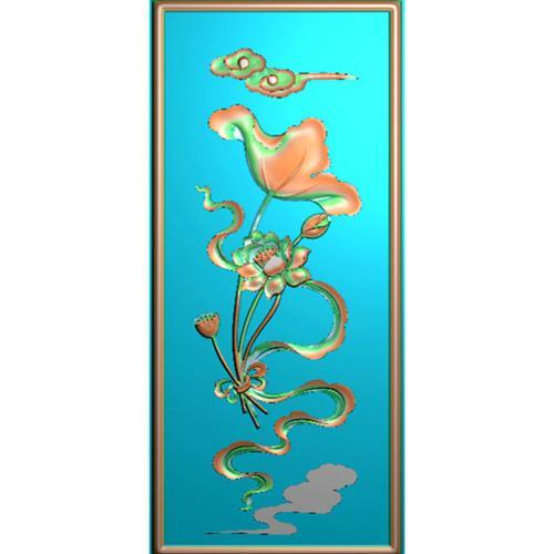 藏式八宝精雕图(BB-489)