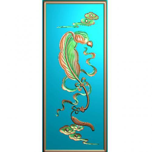 藏式八宝精雕图(BB-490)