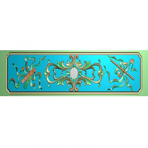 藏式八宝浮雕图(BB-8002)