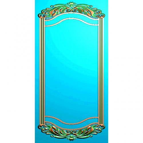 欧式洋花镜框精雕图(OSJK-017)