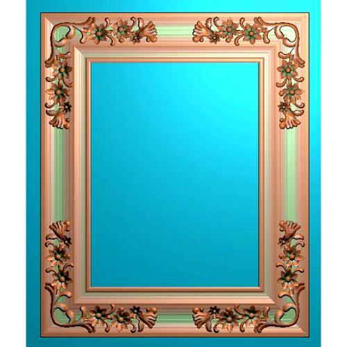 欧式镜框相框雕刻图(OSJK-066)