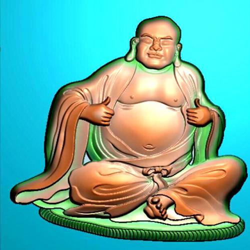罗汉精雕图(LH-8062)