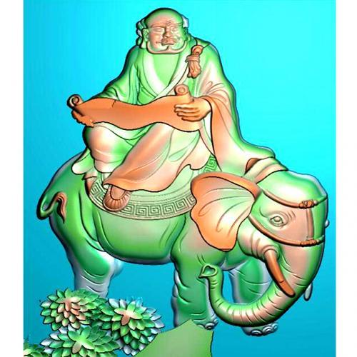 罗汉精雕图(LH-8063)